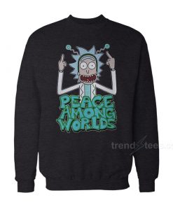 Rick And Morty Merchandise Peace Among Worlds