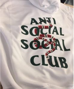 ASSC Anti Social Social Club x Gucci Snake Hoodie