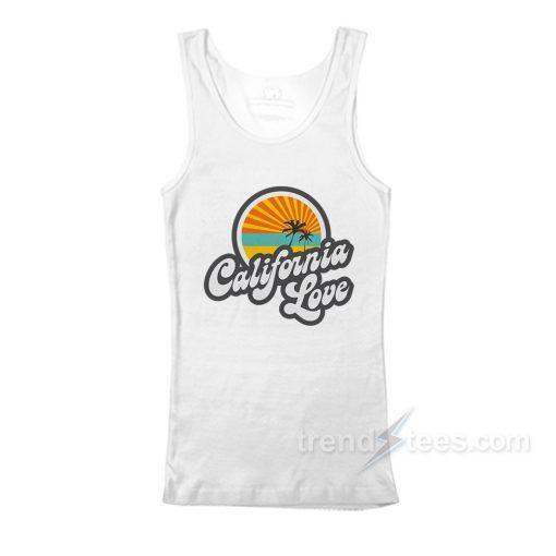 California love Tank Top