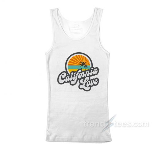 California love Tank Top