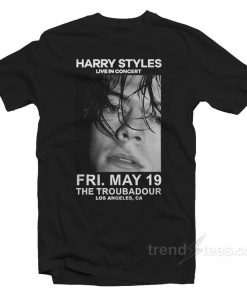 Harry Styles Live in Concert The Troubadour Merchandise T-Shirt