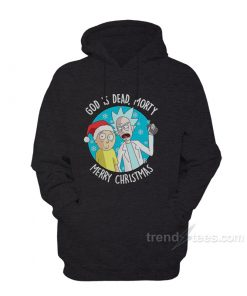 Rick and Morty x Merry Christmas Hoodie