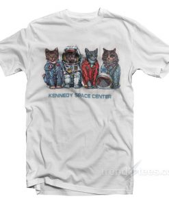 Cat Kennedy Space Centre T-shirt Cheap Custom