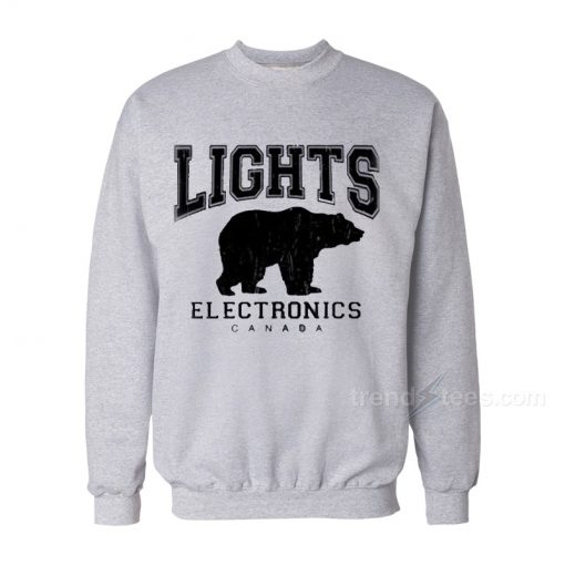 Lights Electronics Canada Bear Sweatshirt