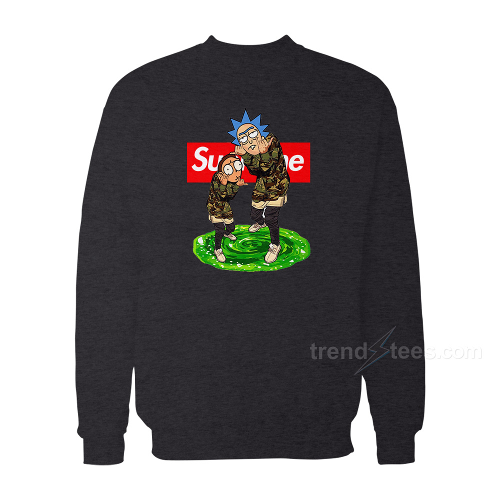 Rick And Morty Supreme Sweater