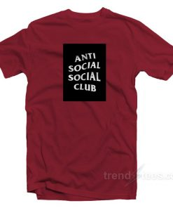 Anti Social Social Club Box Logo T-Shirt