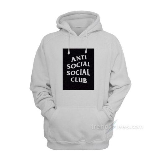 Anti Social Social Club Box Logo Hoodies