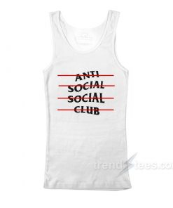 Anti Social Social Club Line Tank Top