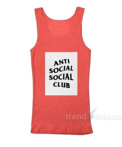 Anti Social Social Club Box Logo Tank top