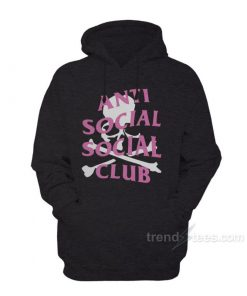 Anti Social Social Club Skull Hoodies