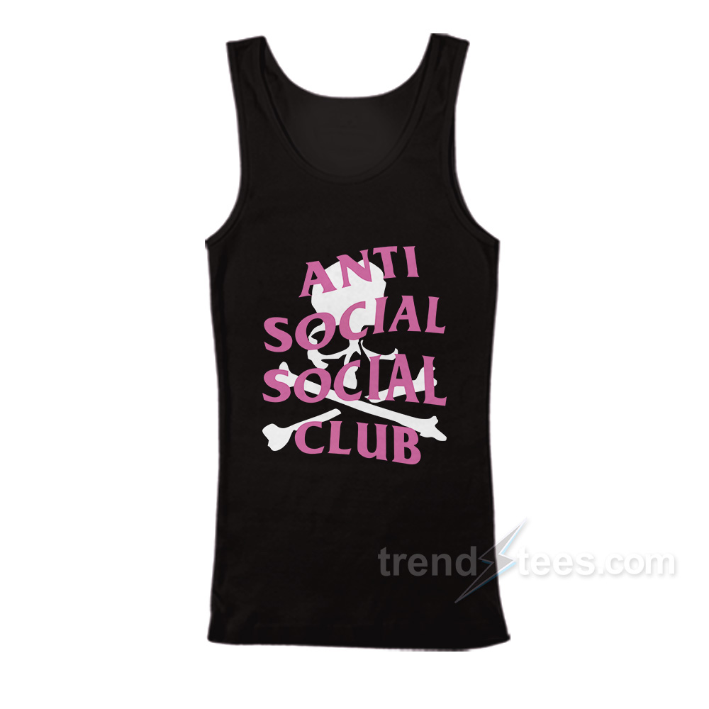 Anti Social Social Club Skull Tank Top