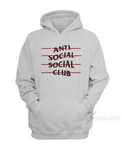 Anti Social Social Line Hoodies