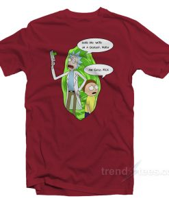 Rick And Morty T Shirt Cheap Custom Aw Geez Rick