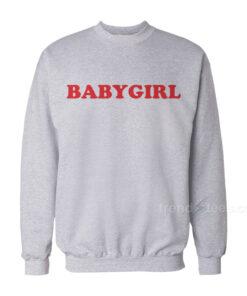 Babygirl Sweatshirt Cheap Custom