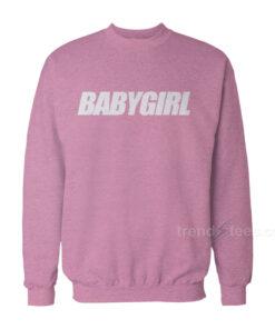 Babygirl Font Sweatshirt