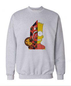 Bart Simpson Shark Bape Sweatshirt