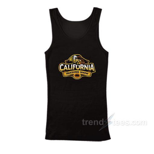 California Trucking Show Tank Top