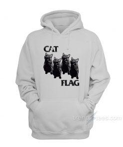 Cat Black Flag Parody Hoodies