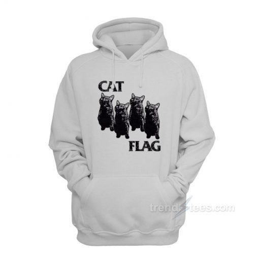 Cat Black Flag Parody Hoodies