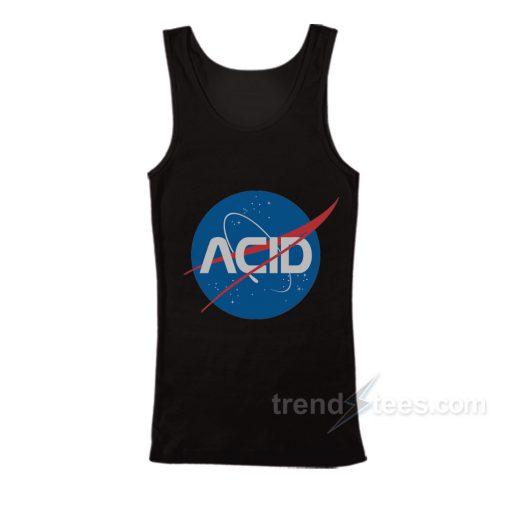 Acid Logo Nasa Tank Top