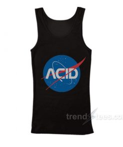 Acid Logo Nasa Tank Top