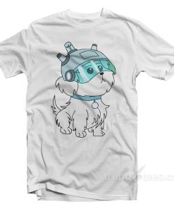 Rick And Morty Lawnmower Dog T-Shirt