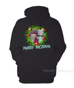Rick and Morty Merchandise Merry Christmas Hoodie