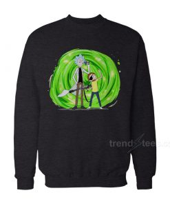 Rick And Morty Merchandise Pirate Sweatshirt Women's or Men's