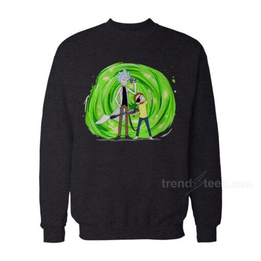 Rick And Morty Merchandise Pirate Sweatshirt Women's or Men's