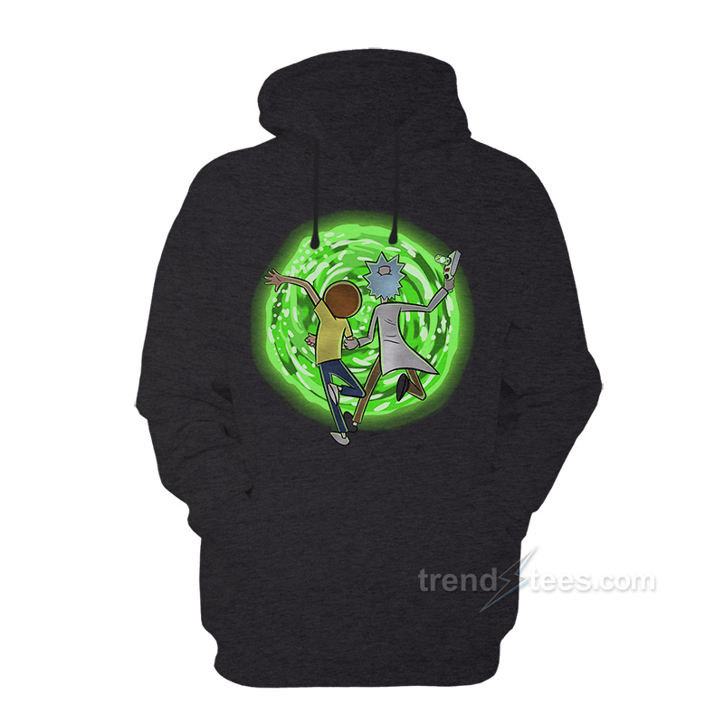 Rick And Morty Merchandise Hoodie