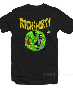 Rick And Morty Batman T-Shirt