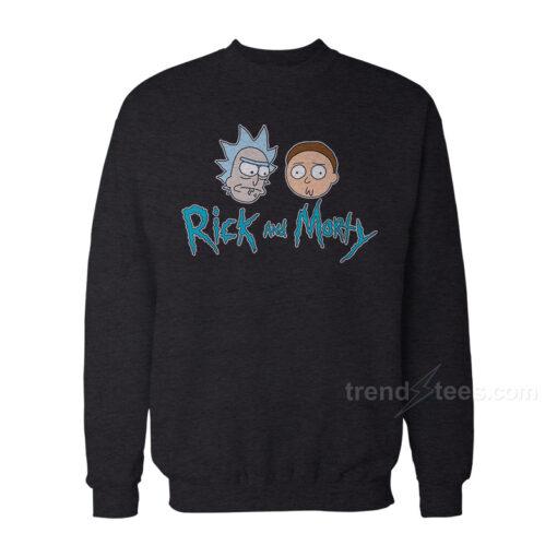 Rick And Morty Merchandise Sweatshirt