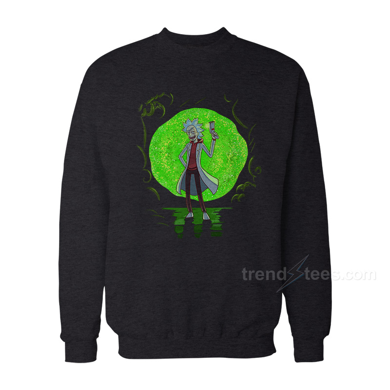 Rick And Morty Merchandise Rick Gun Sweatshirt