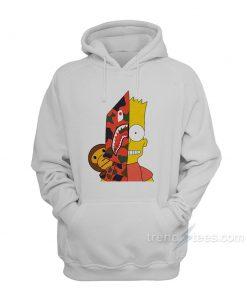 Bart x Bape Shark Hoodie