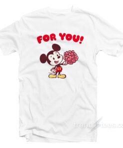 Disney Valentines T-Shirt Cheap Custom