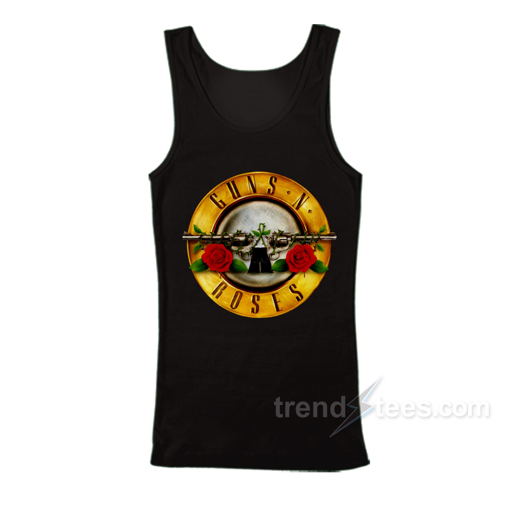Gun n Roses Tank Top Cheap Custom