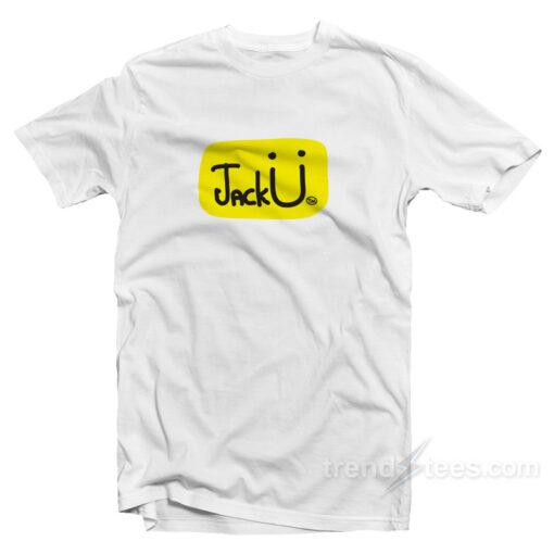 Jack u logo T-shirt Cheap Custom