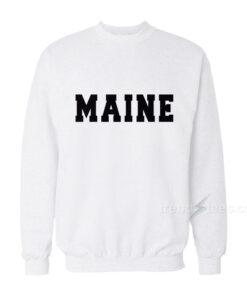 Maine Sweatshirt Sweatshirt