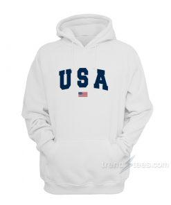 Team USA Olympic Flag hoodie