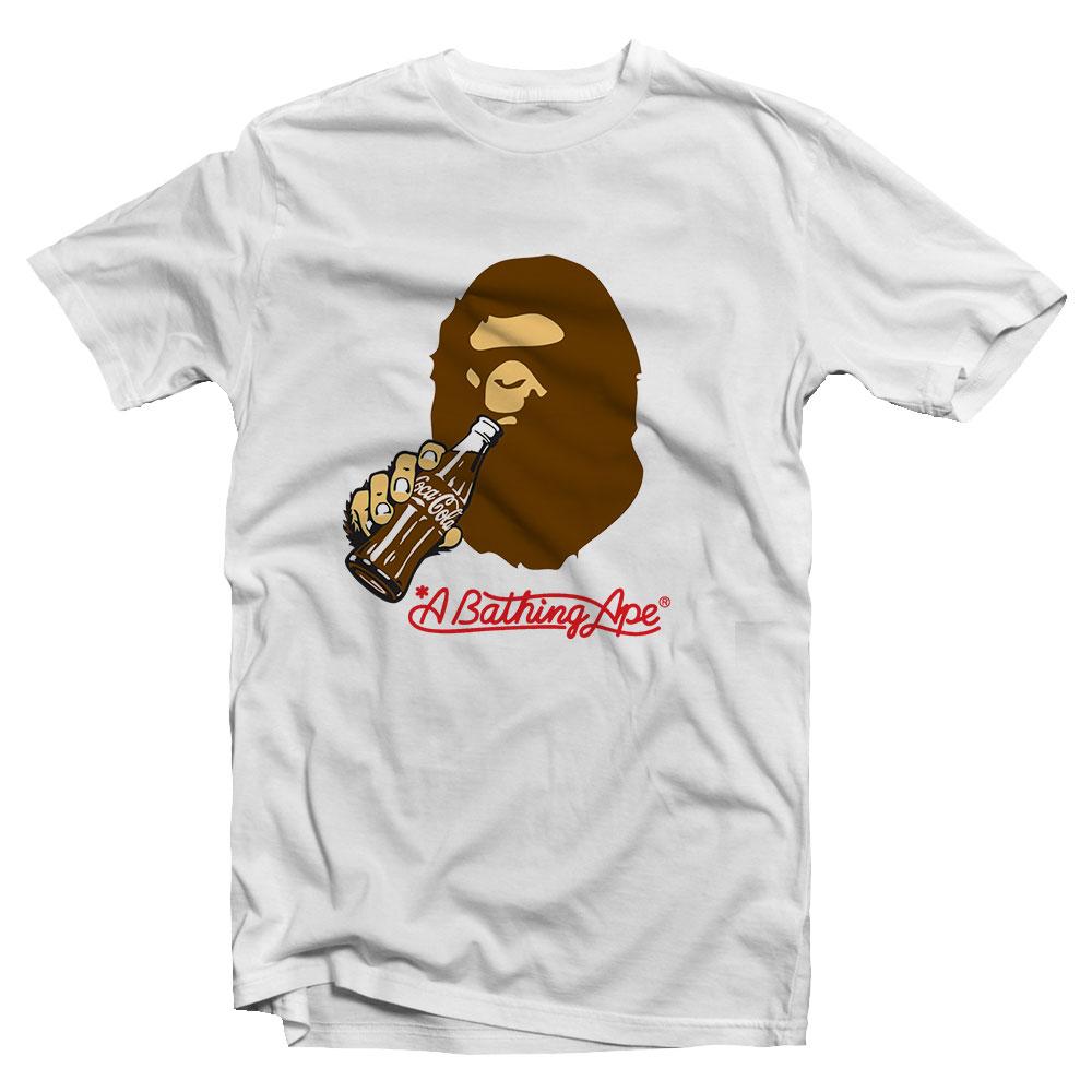 A Bathing Ape Coca Cola T Shirt Cheap Custom Trendstees
