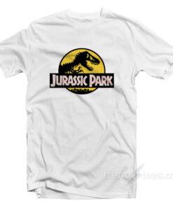 Jurassic Park Logo Cheap Custom T-Shirt