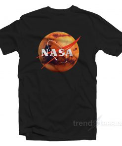 Nasa Shirt Logo Mars Cheap Custom T-Shirt