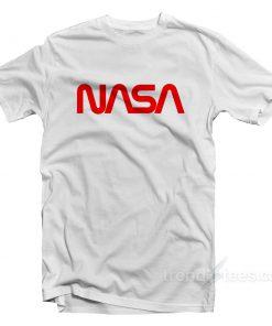 Nasa Shirt Logo Cheap Custom T-Shirt