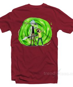 Rick And Morty Hypebeast T-shirt