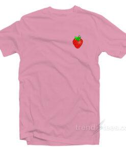 Strawberry Shirt Chest Cheap Custom