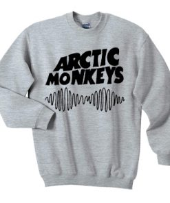 Basic Logo Arctic Monkeys Sweatshirt Cheap Trendy Clothes