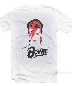 David Bowie Graphic T-shirt Cheap Trendy Clothing