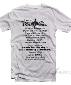 I Am A Disney Girl Quotes T Shirt Cheap 247x296 - HOME 2
