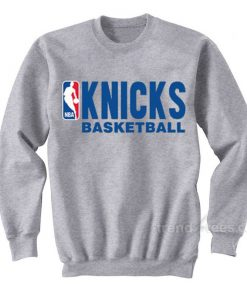 Knicks Basketball Logo Sweatshirt Cheap Trendy Clothes