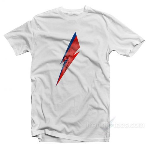 LOGO EYES DAVID BOWIE T-Shirt Cheap Trendy Clothes